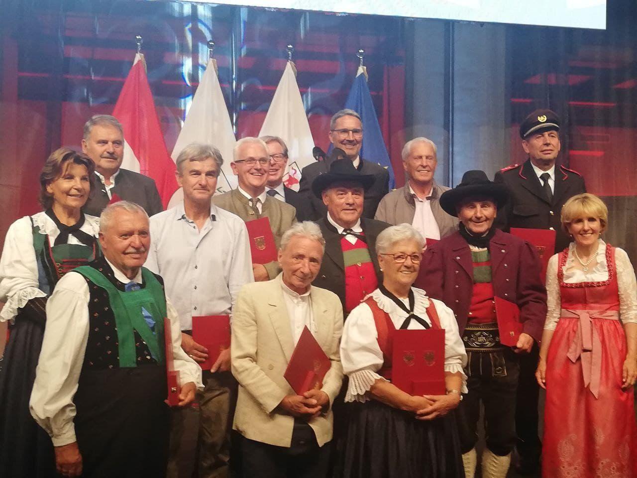 Toni Auer Tiroler Verdienstmedaille 2021